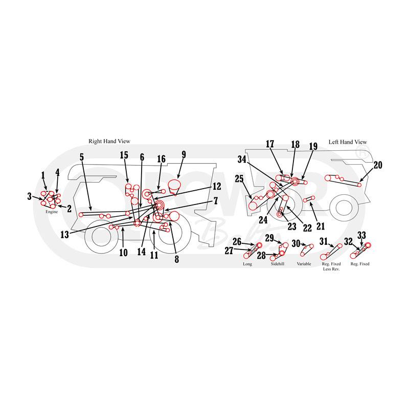 john deere combine wiring diagrams john deere 6620  6622  7720  7721 combine belts  john deere 6620  6622  7720  7721