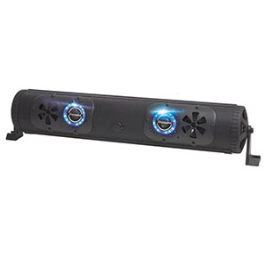 "Bazooka 24"" 450-Watt Double Sided Bluetooth G2 Party Bar with LED System"