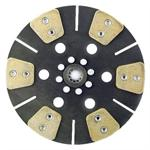Ford 2000, 2100, 2110, 2310, 3000, 3100, 3300, 3310, 3330 Clutch Disc (reman) (10/'69-'75, with 11