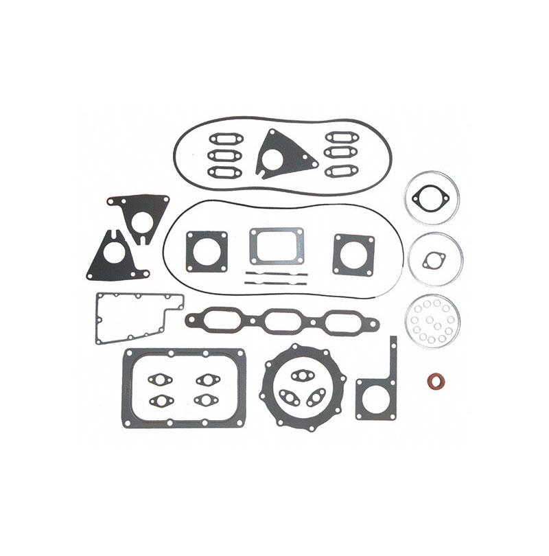 Detroit Diesel 6V92, 12V92 with Rubber valve cover (519673WRVC) Cylinder  Head Gasket Set