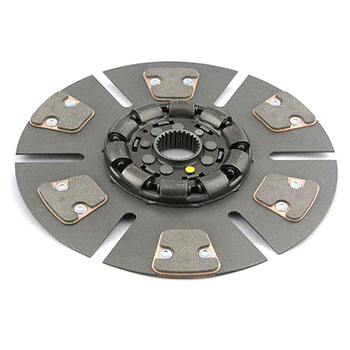 "Oliver 1850 Clutch Disc (reman) (dsl. from s/n 194,008, 13"", 6 pad, dampened)"