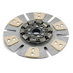 Oliver 1650, 1655 Clutch Disc (from s/n 187,586, 12