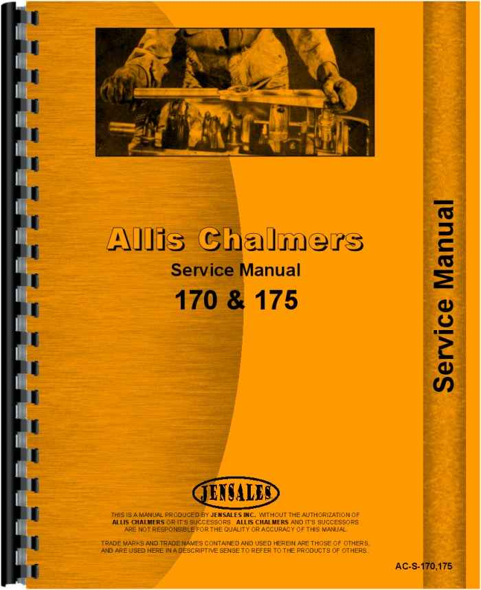 170 allis chalmers tractor service manual