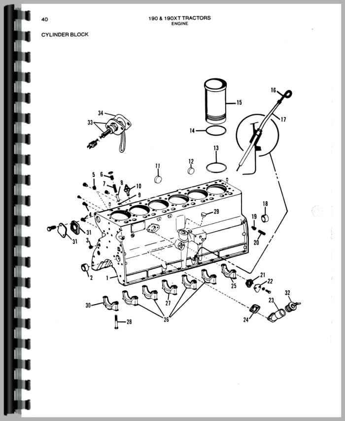Allis Chalmers 190xt Parts Diagram