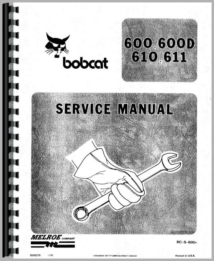610 bobcat Manual