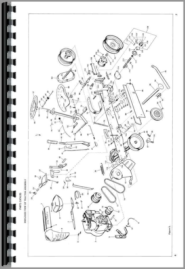 Bolens Tractor manuals engine