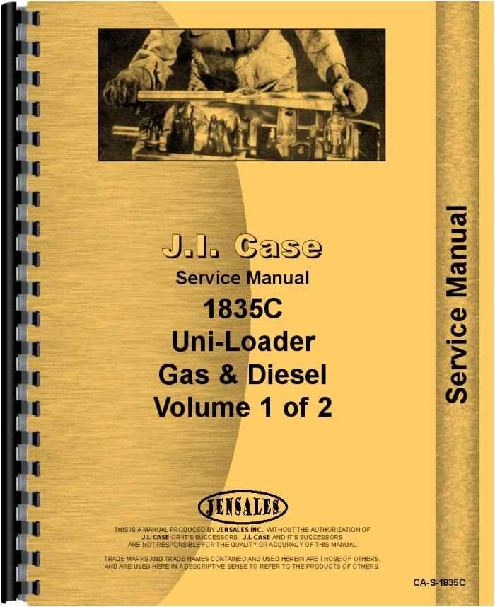 Astonishing Case 1835C Uniloader Service Manual Wiring 101 Carnhateforg