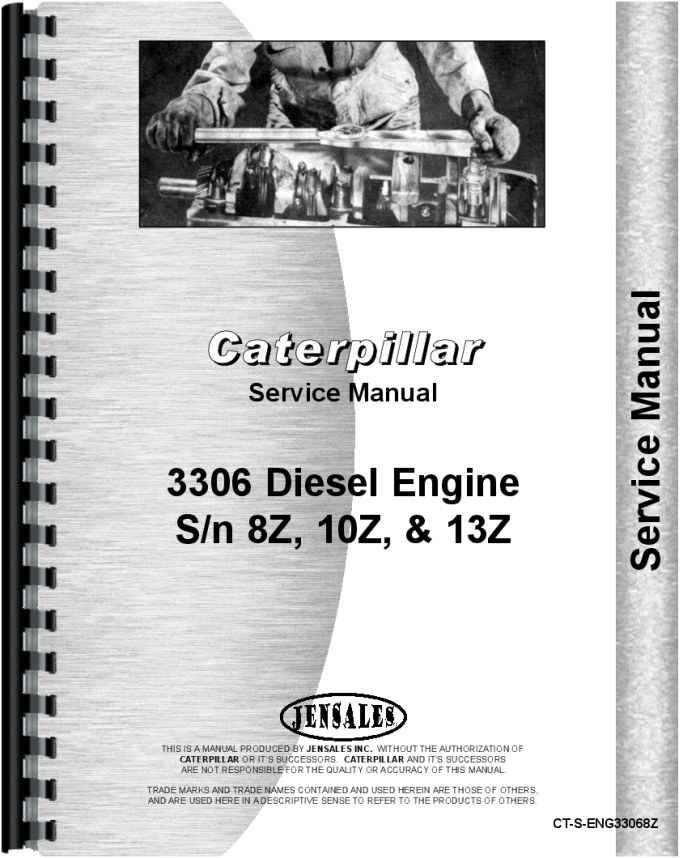 Cat engine model 3306 Manual