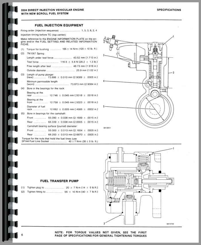 Bestseller  Cat 3306 Engine Timing