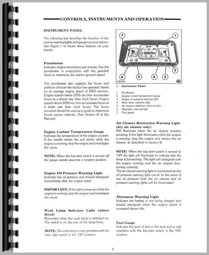 Ford 3910 tractor parts Manual