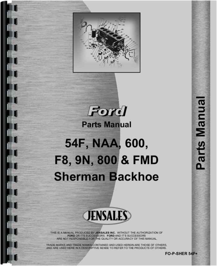 Ford New Major Sherman 54f Backhoe Attachment Parts Manualrhagkits: Ford 460 Parts Diagram At Cicentre.net