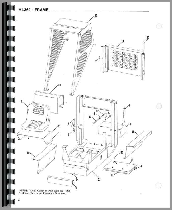 Gehl 4610 parts manual