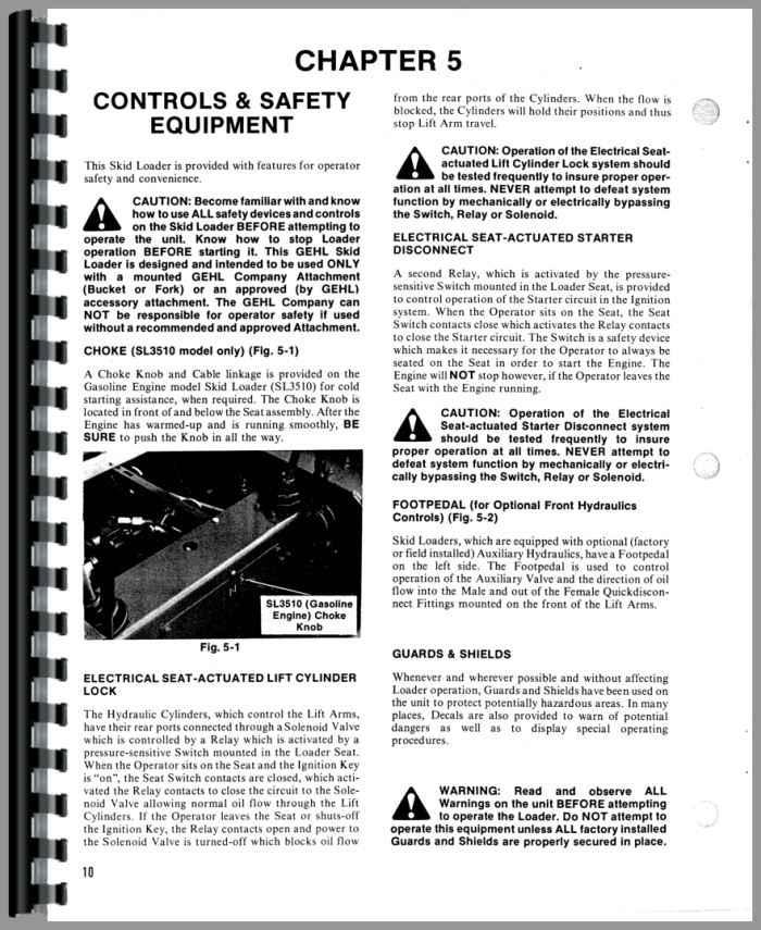 Gehl 3510 Owners Manual