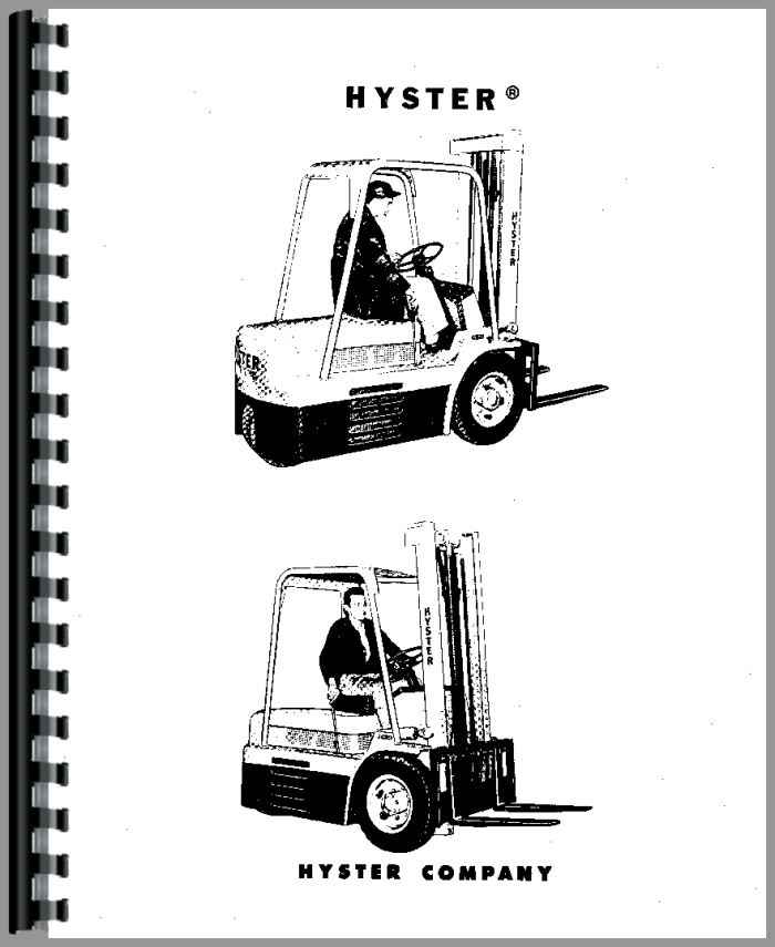 Hyster 55 service manual