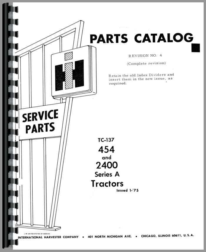 case ih 454 international parts uk branded tractor spares