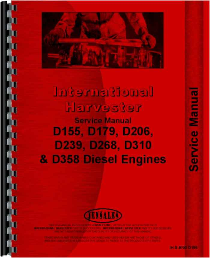 international harvester 544 tractor engine service manual International H Wiring Diagram