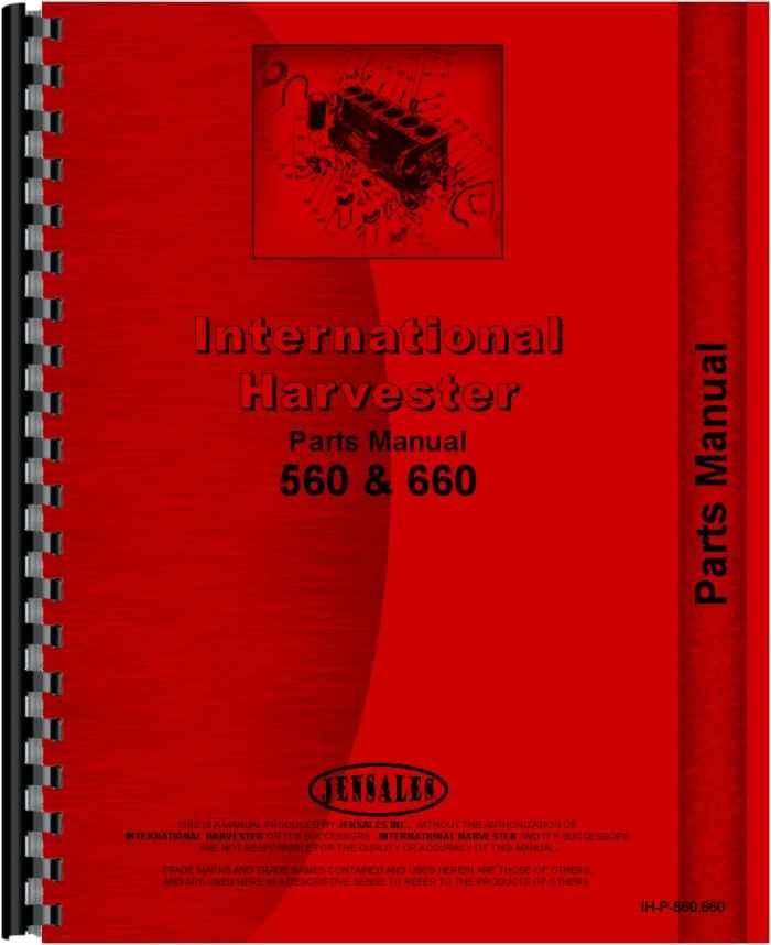 560 Farmall Parts Diagram   Wiring Diagram on