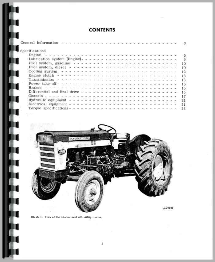 International 404 Wiring Manual on