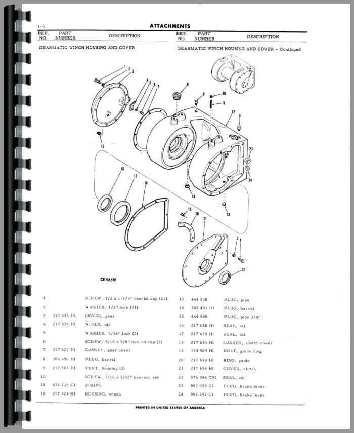 1972 International td8c Dozer Manual