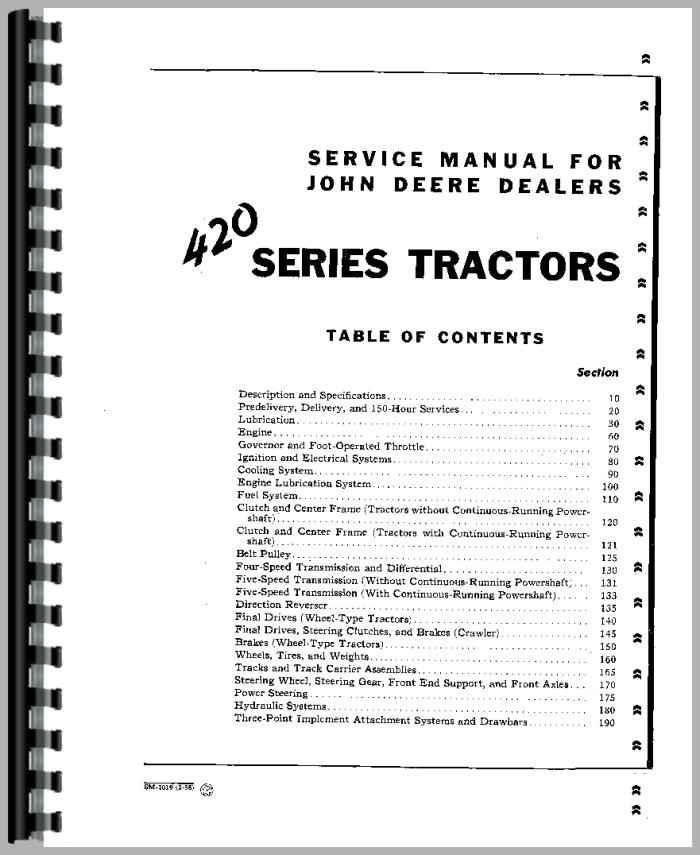 john deere 320 tractor service manual (htjd-ssm2019)