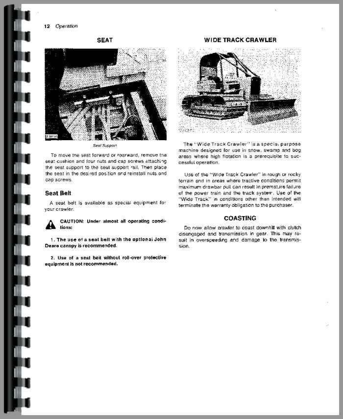 Johndeere 350 Dozer repair manual