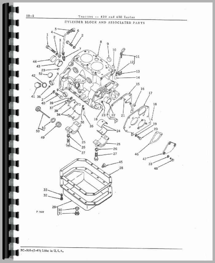 John Deere Parts Manual 670