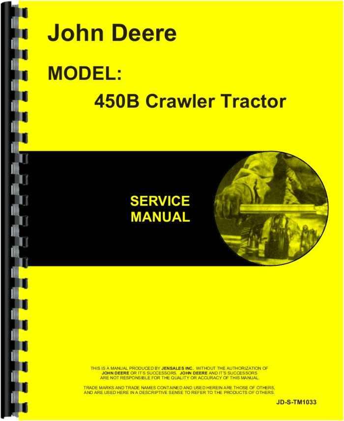 Jd 450b Crawler Manual