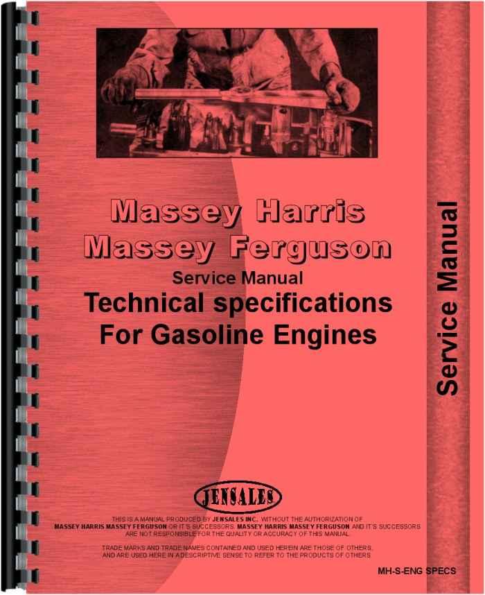 Massey Harris All Continental Z145 Service Manual