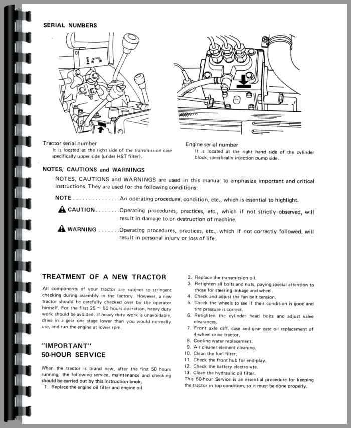 Mitsubishi Tractor manual Mt16d