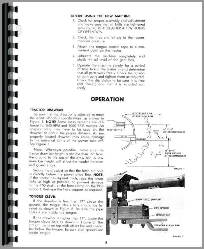 479 haybine Manual