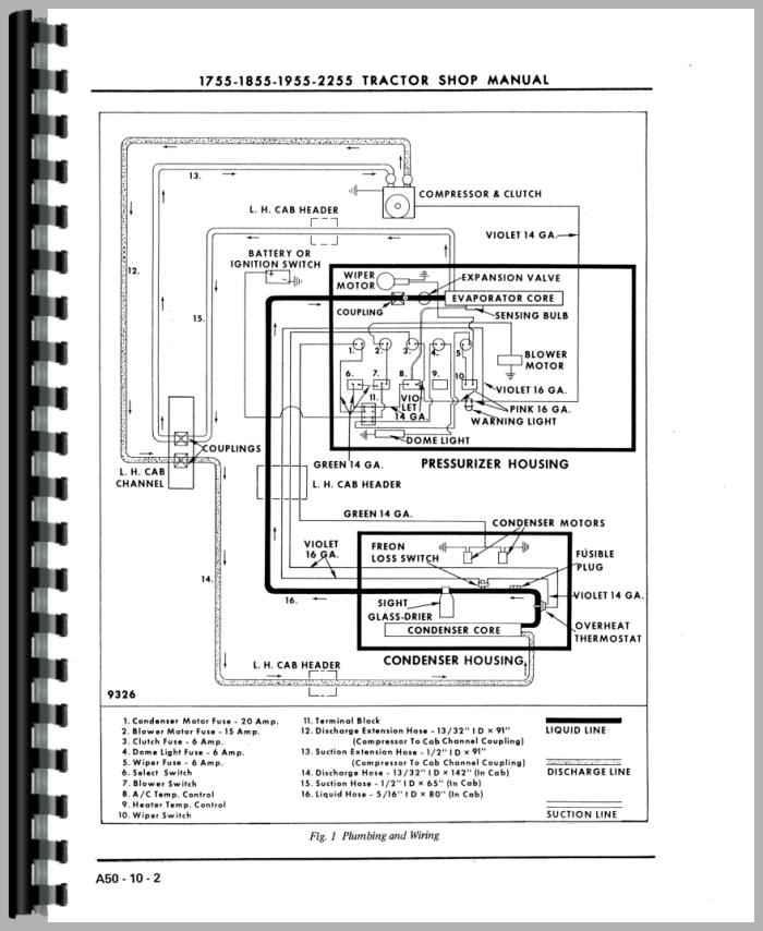 Oliver 1650 Wiring Diagram - Wiring Schematics on