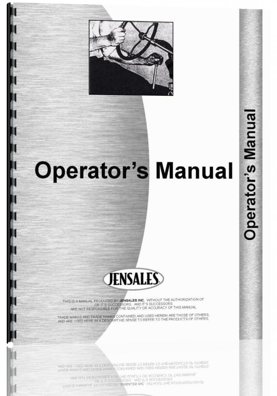 Allis Chalmers 644 Forklift Operators Manual (HTAC-O640644)