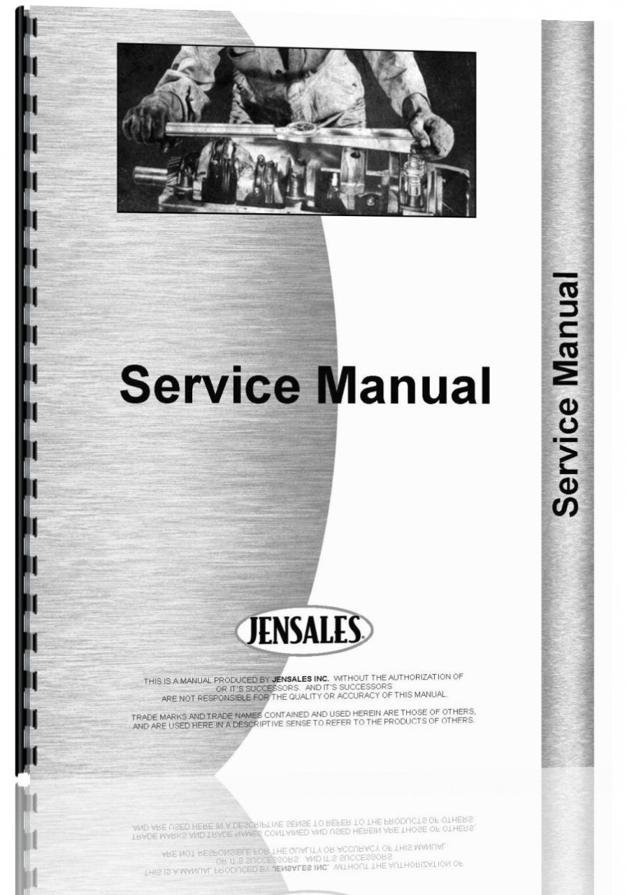 Hough H-100B Pay Loader Cummins Engine Service Manual (HTCU-SHNH)
