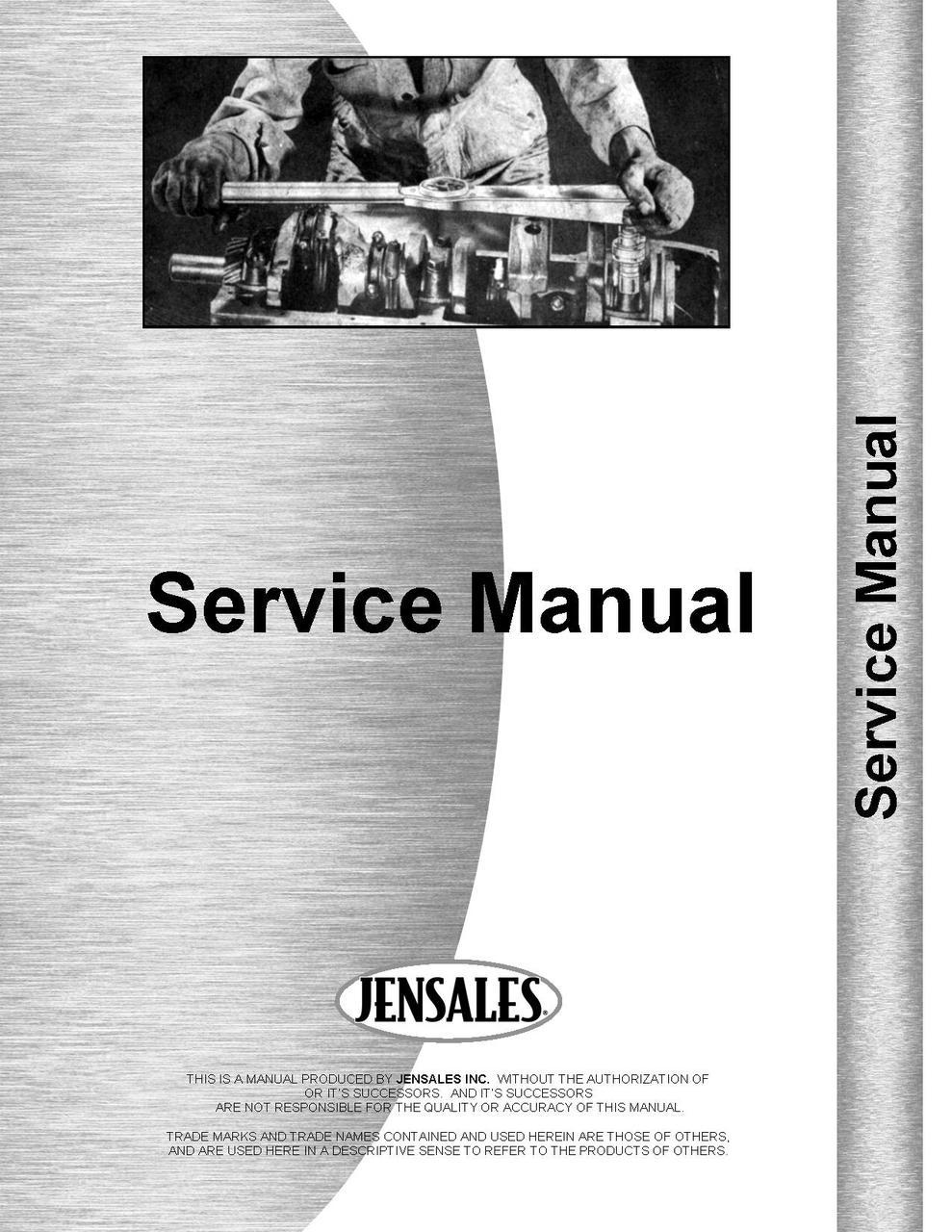 International Harvester 460 Tractor Service Manual (HTIH-S460560)