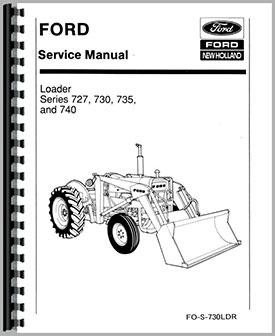 Ford 777f loader manual