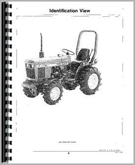 John Deere 650 owners Manual