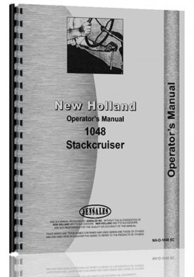 New Holland 1048 Bale Mower Operators Manual