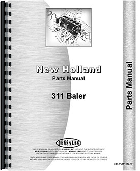 New Holland 311 Baler Parts Manual