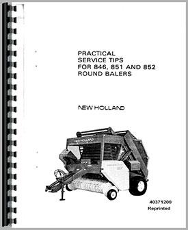 John deere 435 Baler Service manual