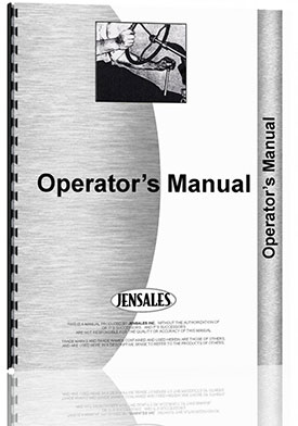 New Holland 290 Baler Operators Manual